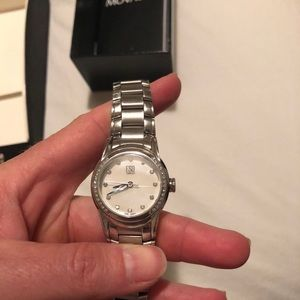 Movado ESQ Stainless Watch With Diamonds